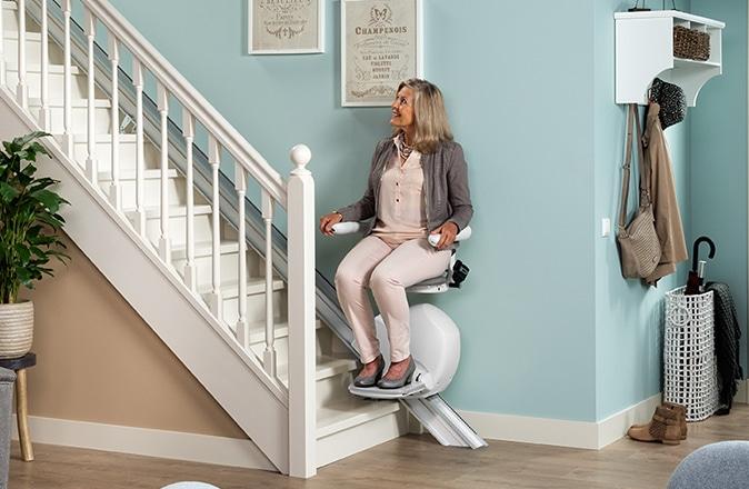 A la recherche d'un monte-escalier bon marché? L'Otolift Line est un des monte-escaliers les plus avantageux sur le marché