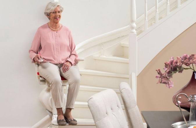 Un monte-escalier d'occasion est aussi sûr qu'un monte-escalier neuf.